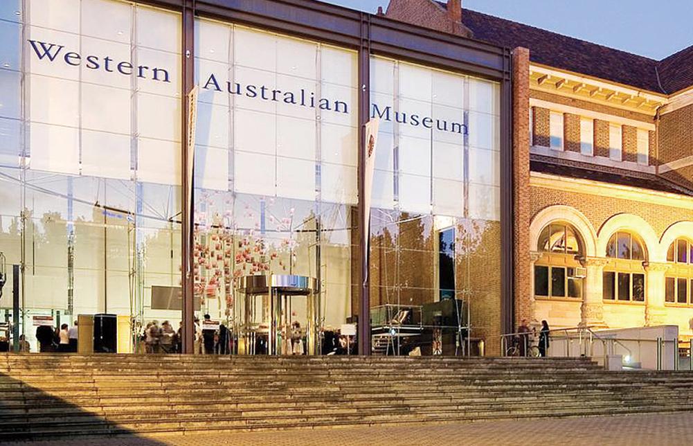 閉館前の西オーストラリア州立博物館